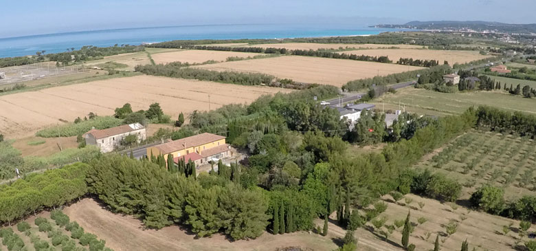 agriturismo vicino le spiagge bianche a vada